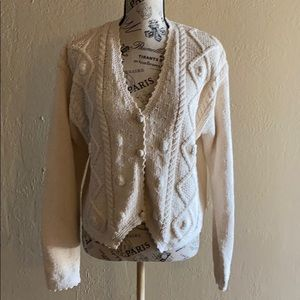 Vintage Cappagallo Country Cottage Sweater